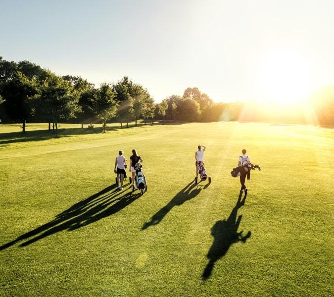 Golf in the Sun